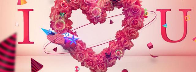 Cực yêu với những ảnh bìa đẹp về tình yêu dễ thương nhất 9