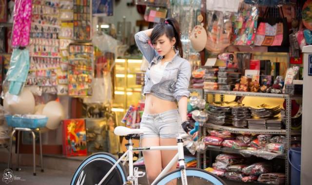 Ngắm trọn bộ ảnh Hot Girl xinh đẹp trên Facebook được vạn người mê 5