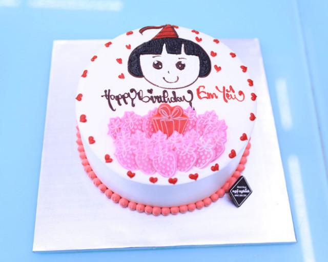 Bánh sinh nhật dễ thương 12