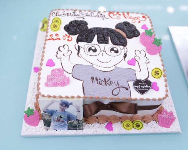 Bánh sinh nhật dễ thương 17