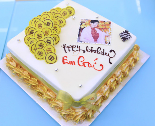 Bánh sinh nhật dễ thương 3