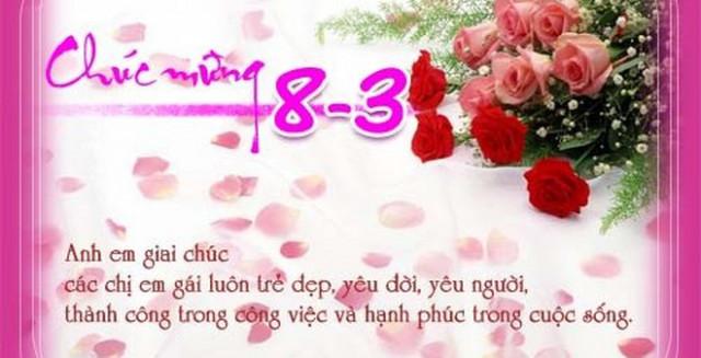 1001 Lời chúc 8/3 hay và ý nghĩa nhất gửi đến chị em phụ nữ 6