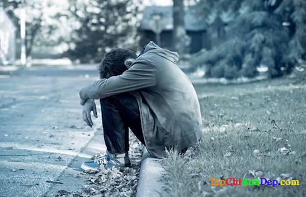 Hình ảnh buồn cô đơn lẻ loi đầy tâm trạng