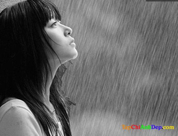 Hình ảnh buồn về tình yêu của con gái khi chia tay người yêu