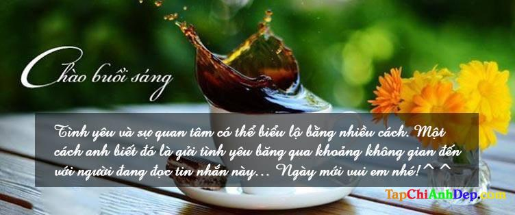 Những lời chúc buổi sáng lãng mạn dành cho người yêu
