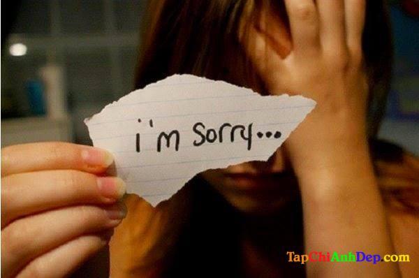 Stt xin lỗi người yêu hay nhất