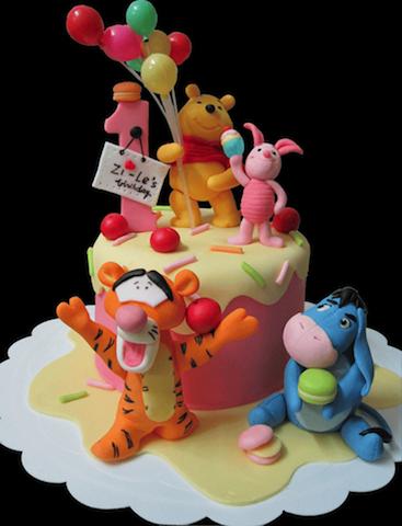 Hình ảnh bánh sinh nhật đẹp dễ thương nhất mẫu 9