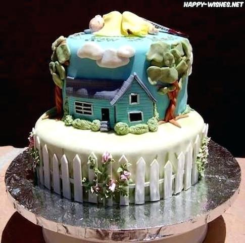 Hình ảnh bánh sinh nhật đẹp dễ thương nhất mẫu 3