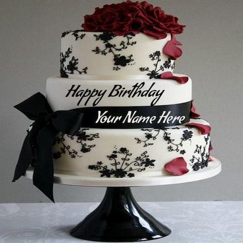 Hình ảnh bánh sinh nhật đẹp dễ thương nhất mẫu 7