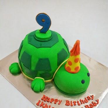 Loạt ảnh bánh sinh nhật dễ thương hình con vật