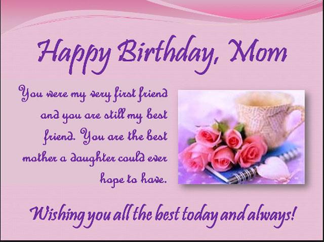 Lời chúc sinh nhật ý nghĩa nhất dành cho người mẹ thân yêu