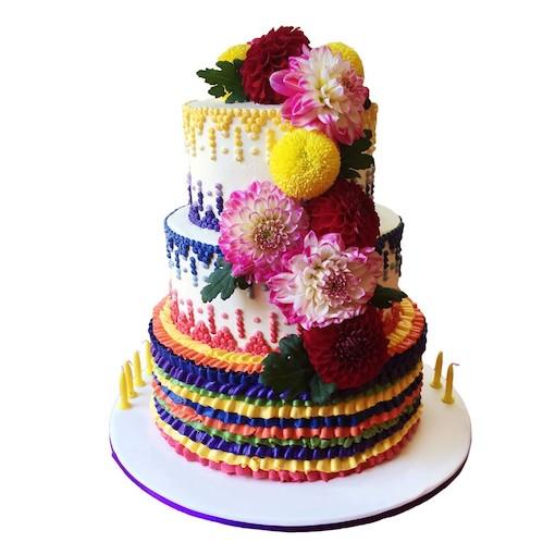 Những mẫu bánh sinh nhật đẹp với nhiều kiểu dáng độc lạ mẫu 14