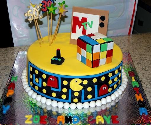Những mẫu bánh sinh nhật đẹp với nhiều kiểu dáng độc lạ mẫu 4