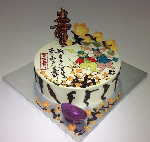 Những mẫu bánh sinh nhật đẹp với nhiều kiểu dáng độc lạ mẫu 6