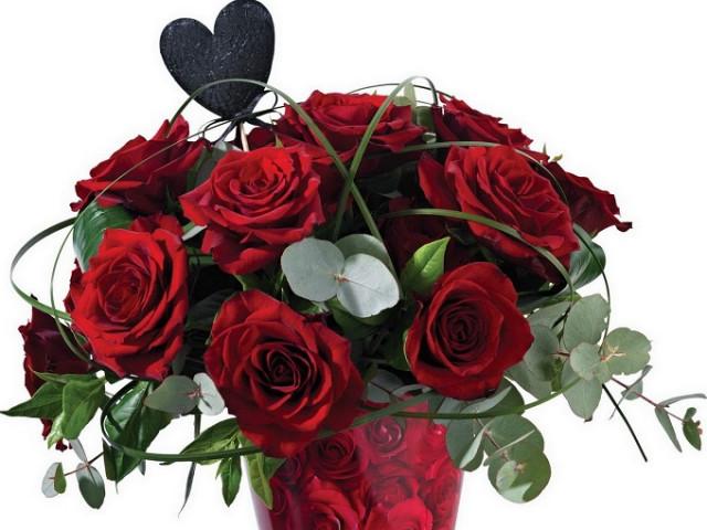 Hình ảnh hoa hồng tình yêu xanh, đỏ, vàng cực đẹp