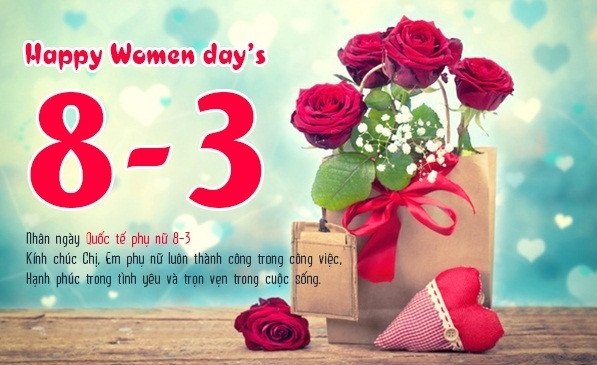 1001 Lời chúc 8/3 hay và ý nghĩa nhất gửi đến chị em phụ nữ